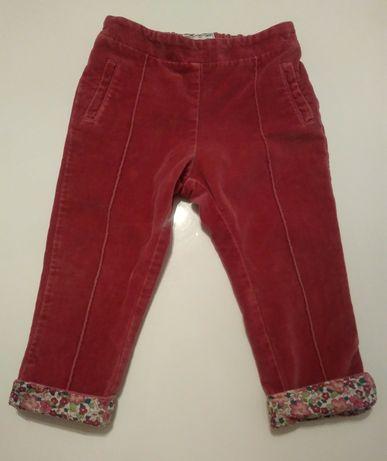 Różowe spodnie dla dziewczynki 86 Mayoral