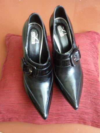 Туфли новые лакированые нат.кожа р.37
