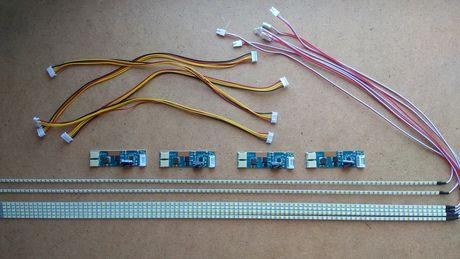 """LED комплект для замены CCFL ламп монитора до 24"""""""