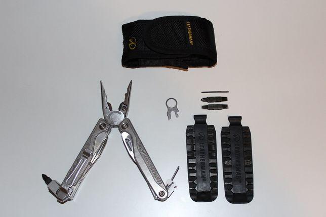 Multitool Leatherman Charge TTi Plus - NOWY - komplet