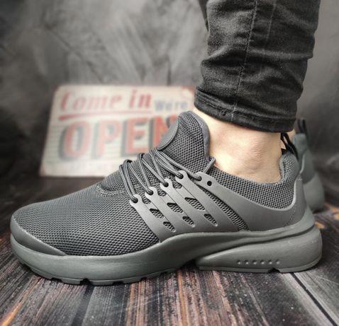 Распродажа Мужские Кроссовки под Nike Air Presto (сірі) 45-46 размер