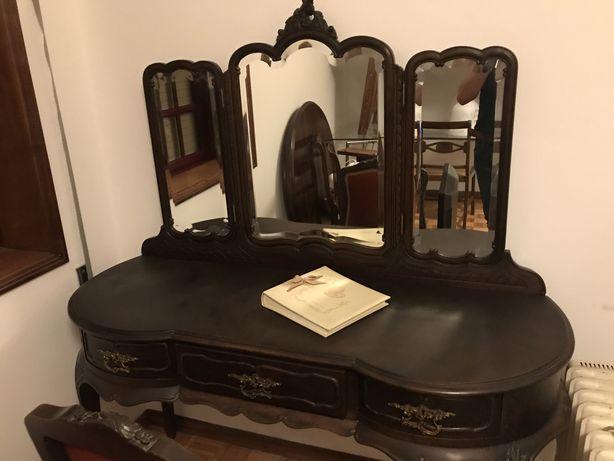 Toucador + cadeira + banco em excelente estado original