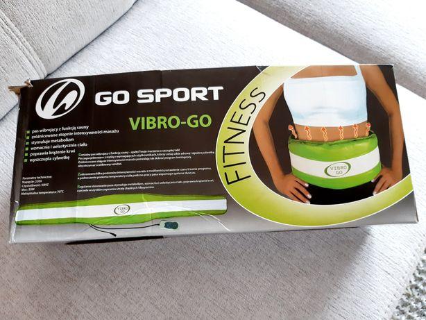 Pas wibrujacy Vibro Go + oryginalne pudełko