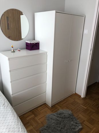 Biała komoda Ikea Kullen