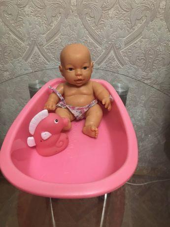 Пупсик с ванночкой