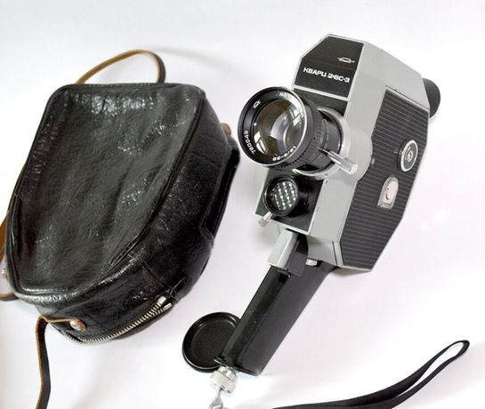 Кинокамера Кварц 2x8C-3, СССР