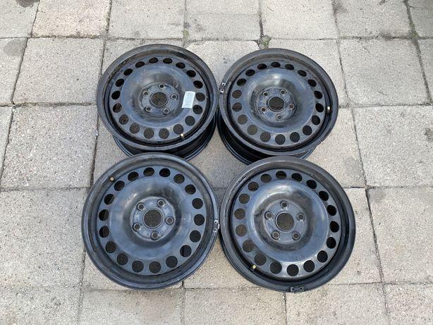 Felgi stalowe 5x112 6,5jx16 ET48 Vw Skoda Audi Seat KOMPLET