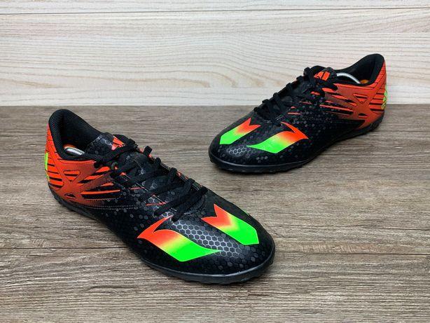 Сороконожки футзалки Adidas Messs черные мужские 42 Original