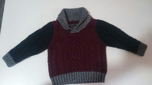Sweterek little rebel 80 cm
