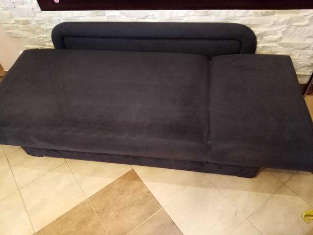 Tapczan łóżko jednoosobowe 200x90 z pojemnikiem na pościel