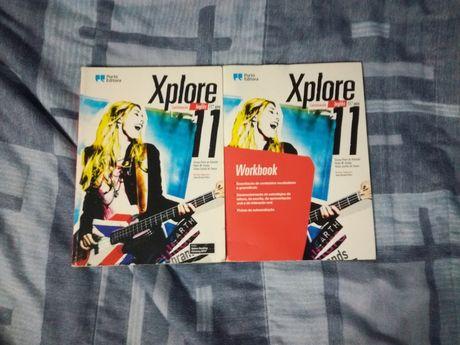Xplore 11 Porto Editora - Livro + Workbook