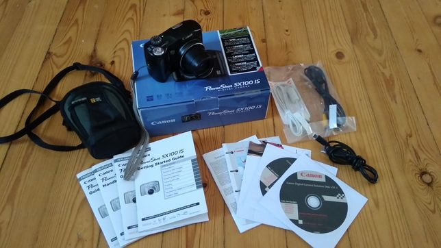 Aparat Canon PowerShot SX100 IS