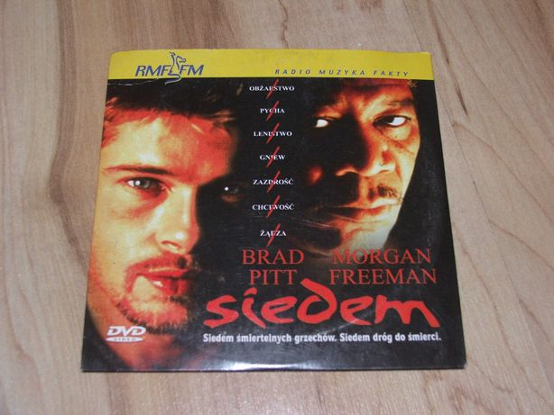 Siedem Morgan Freeman Brad Pit DVD