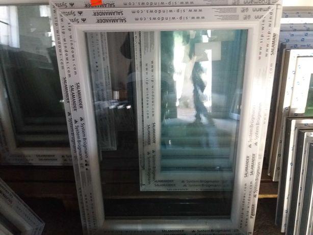 Sprzedam okno pcv nowe wys 120 szer 80  uchylno-rozwierne .  TANIO.