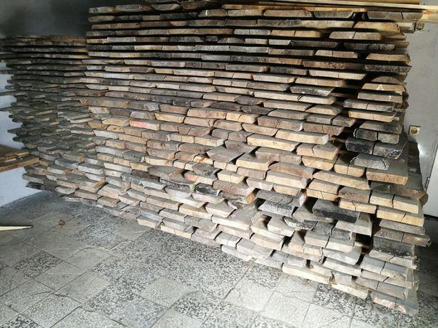 Deski stolarskie jesion w ilości 3 m³ dł. 130 cm. grubość 4 i 5 cm