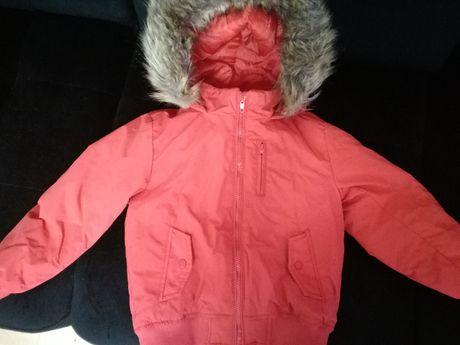 Kurtka zimowa dla chłopca Tape A L'Oeil w rozmiarze 116+czapka, szalik