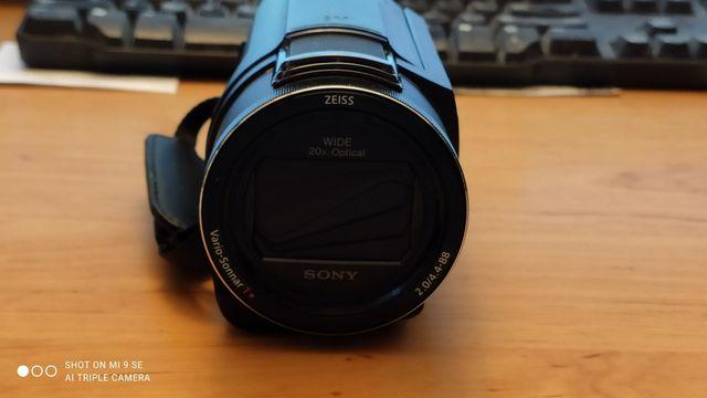 kamera sony fdr-ax53 prawie profesjonalna filmy doskonałe