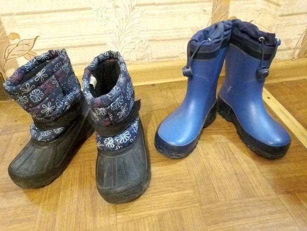 Сапоги и туфли для мальчиков