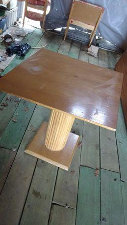 Stolik noga bambusowa drewno