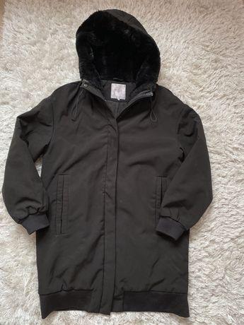 Zimowa, ciepła kurtka Zara - parka L