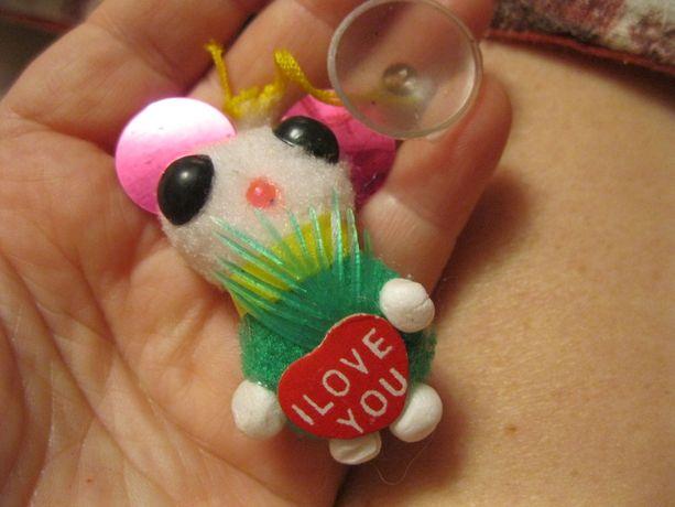 детская мелкая игрущка мышка сувенир