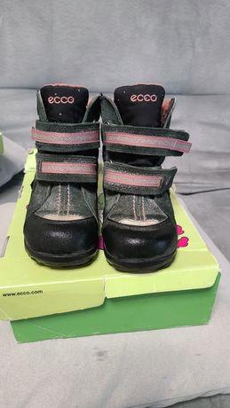 Зимние термо сапоги, ботинки Ecco 25 р.