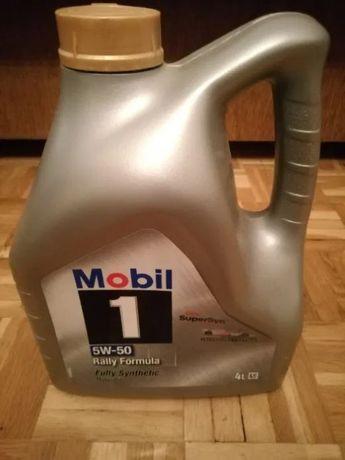Olej silnikowy Mobil - 1 50W-50 Rally Formula 4 litry NOWY !