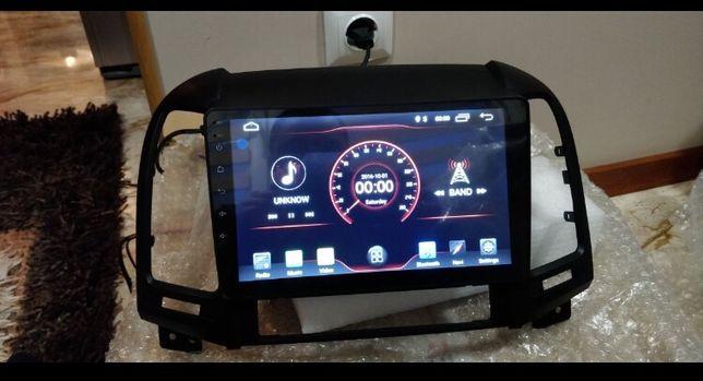 Автомагнитола, штатная магнитола Hyundai santa fe 2006 + Android, GPS