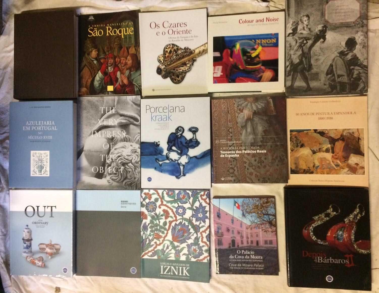 Livros História de Arte Museu Catálogo Exposição Pintura Antiguidades