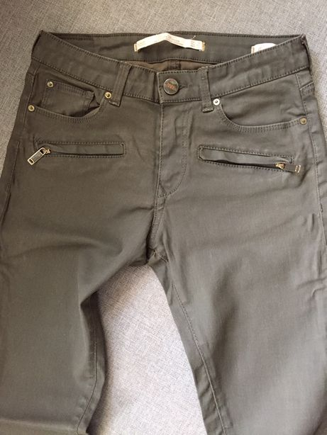 Джинсы, брюки, штаны Zara skinny