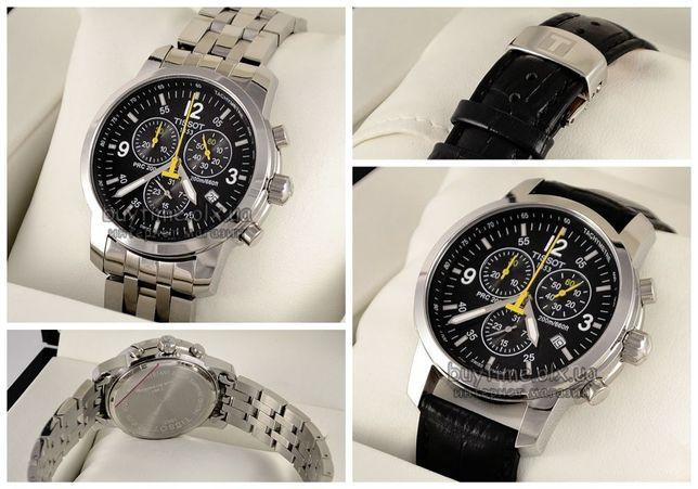 VIP часы Tissot PRC 200 Chronograph наручные мужские T17.1.586.52