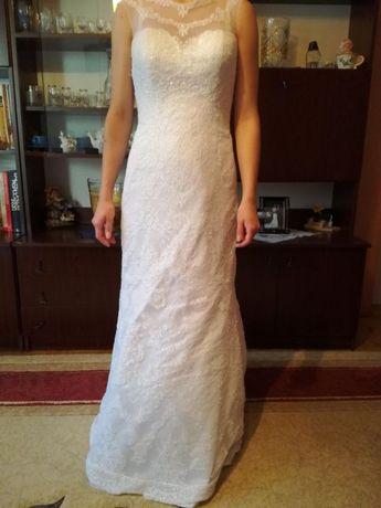 Suknia ślubna+welon