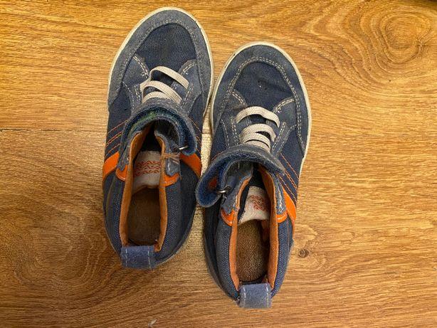 Buty firmy Geox, sportowe, wygodne, bez sznurowania, na rzep, rozm 28