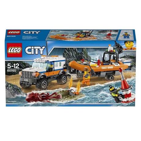 Zestaw LEGO CITY Terenówka Szybkiego Reagowania 60165 zabawka prezent