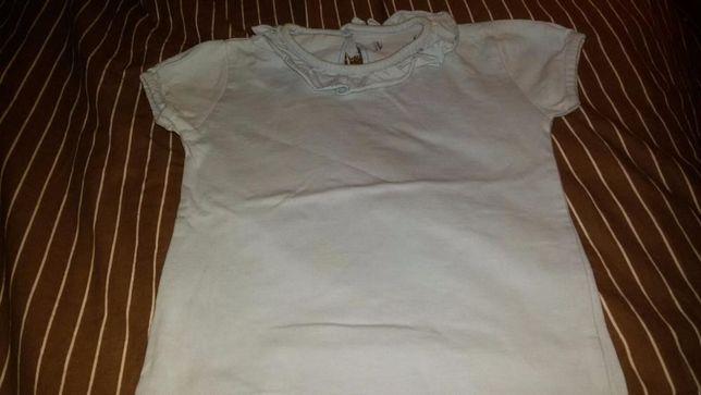 T Shirt Golinha Azul Bebe menina