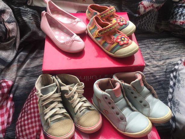 Обувь для девочки 26-27 р. Мокасины, кеды, ботинки, балетки