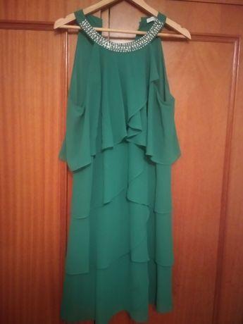 Vestido verde tamanho L