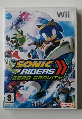 Sonic Riders 2 II Zero Gravity Nintendo Wii Ideał