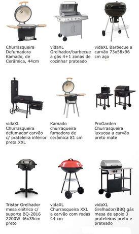 Churrasqueiras de exterior, espetos, barbecue, Grelhadores
