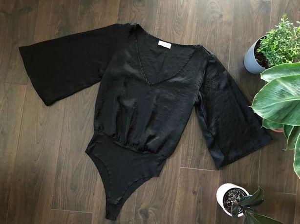 Pull&Bear - czarne body - rozmiar S 36