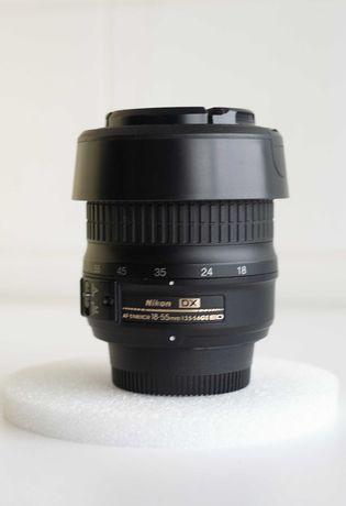 Lente Nikon 18-55 GII