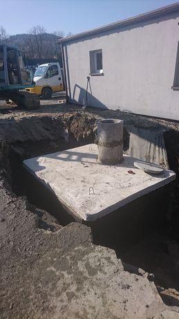 Zbiorniki szambo szamba piwniczki betonowe 10m/3 Katowice Częstochowa