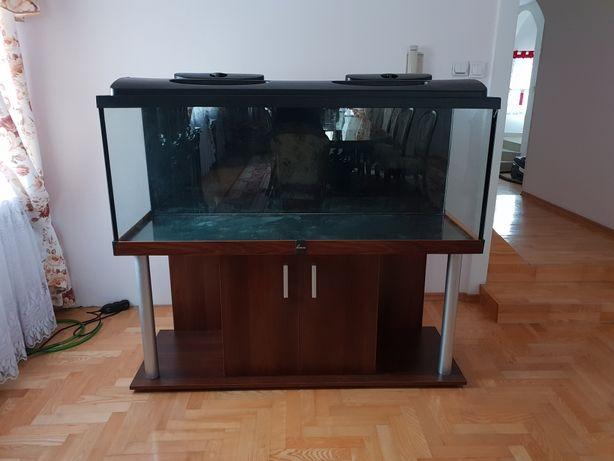 Akwarium 150x50x60cm + mata + szafka
