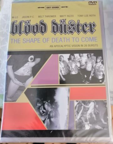 Blood Duster DVD Shape of Death to come