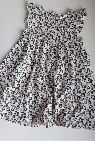 Sukienka w centki Next 12-18 86cm
