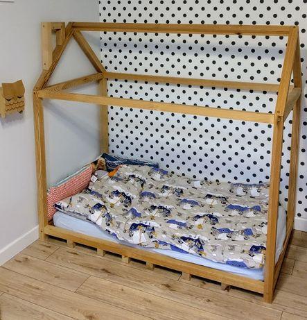 Łóżko domek - Wild One Design 70x140 + materac