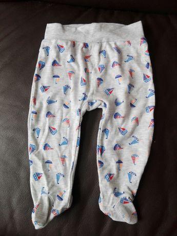 Spodnie chłopięce pół śpiochy roz. 74