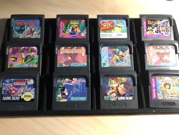 Картриджи для Sega Game Gear. Сега.