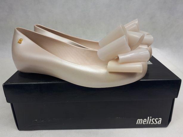 Nowe balerinki MELISSA ślubne perłowe ultragirl sweet x ad 40