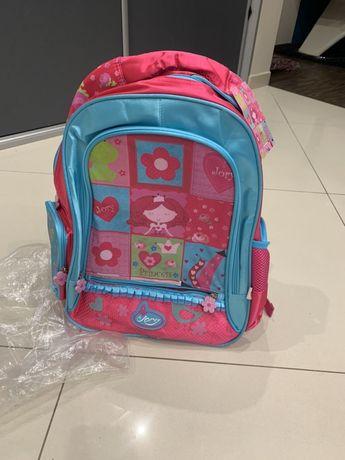 Plecak dziewczecy nowy